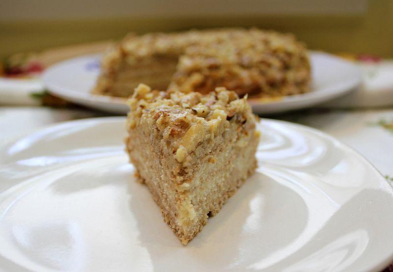 как приготовить торт мини- эстерхази