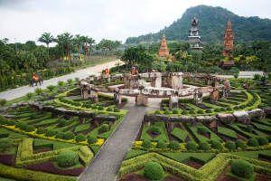 парк нонг нуч в таиланде